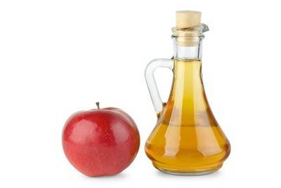 vinagre de manzana contra las hemorroides