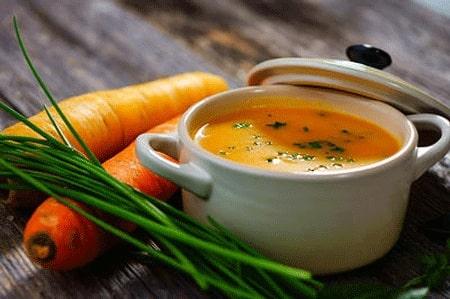 سوپ هویج درمان اسهال