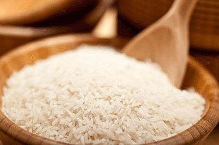برنج سفید درمان اسهال